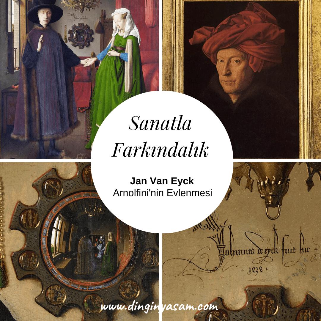 Sanatla-Farkındalık-Jan-Van-Eyck,Arnolfini-nin-Evlenmesi