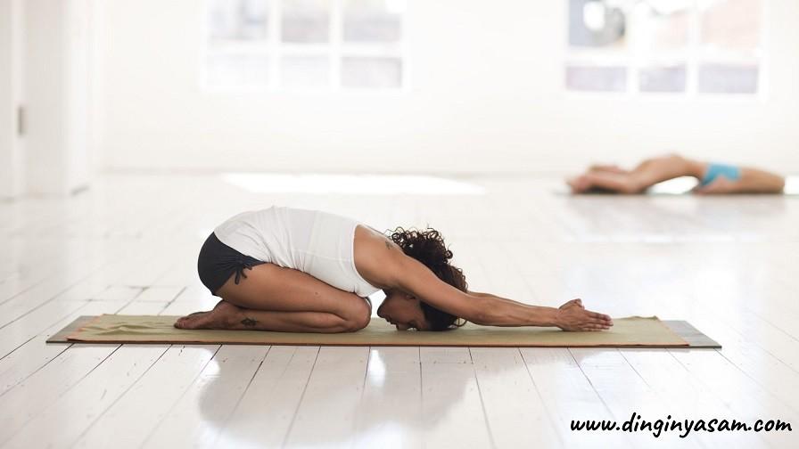 yoga cocuk pozu balasana dinginyasam.com