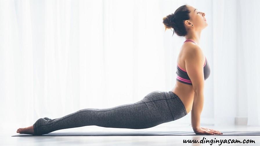 yoga kobra hareketi Bhujangasana dinginyasam.com