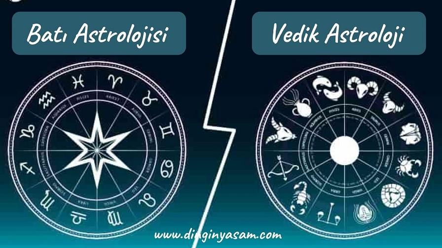 vedik astroloji ile bati astrolojisi farki