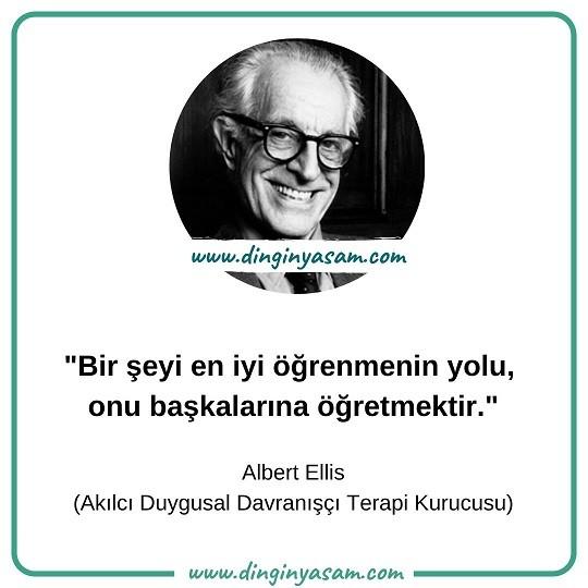 Albert Ellis sozleri 1