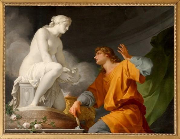Mitolojide Pygmalion dingin yasam